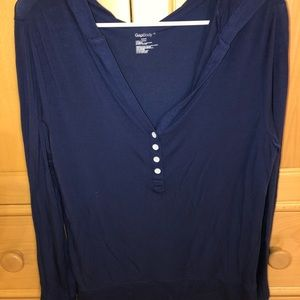 GAP BODY LONG SLEEVE WITH HOOD